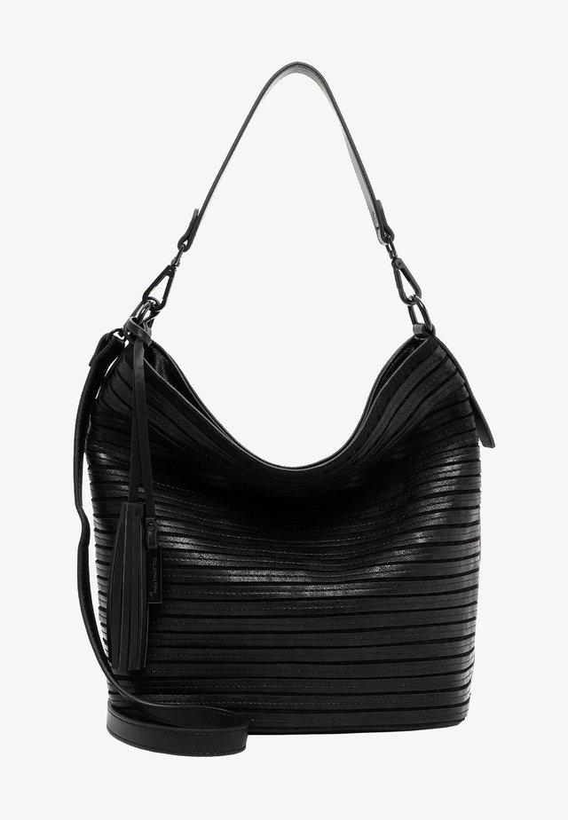 BARBARA - Bolso shopping - black