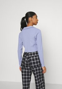 Monki - FREDDIE TOP - Longsleeve - blue - 2