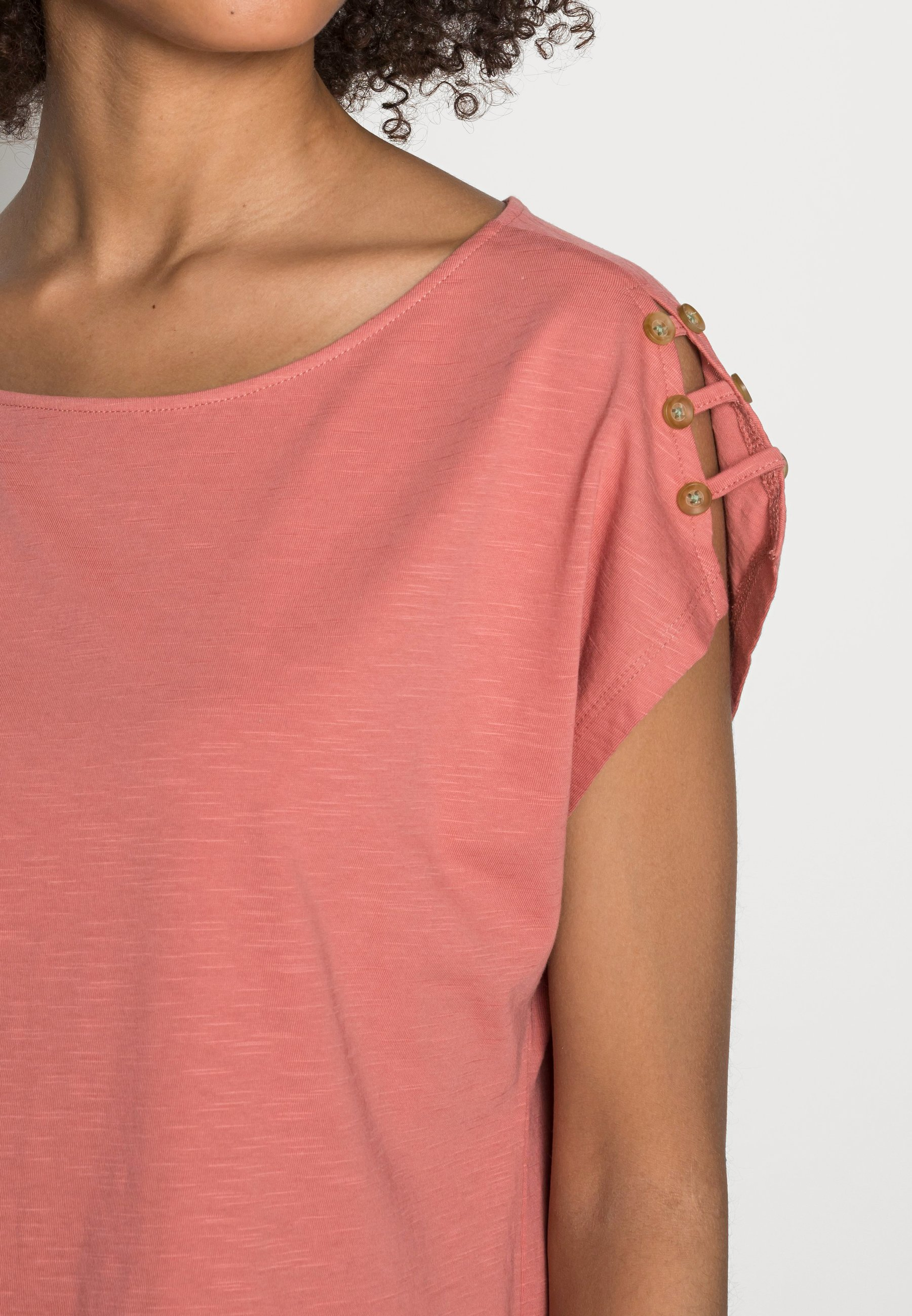 Damen BUTTON - T-Shirt basic