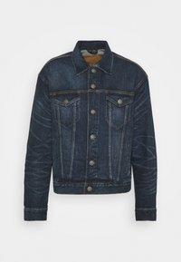 CLASSIC TRUCKER JACKET - Denim jacket - blue
