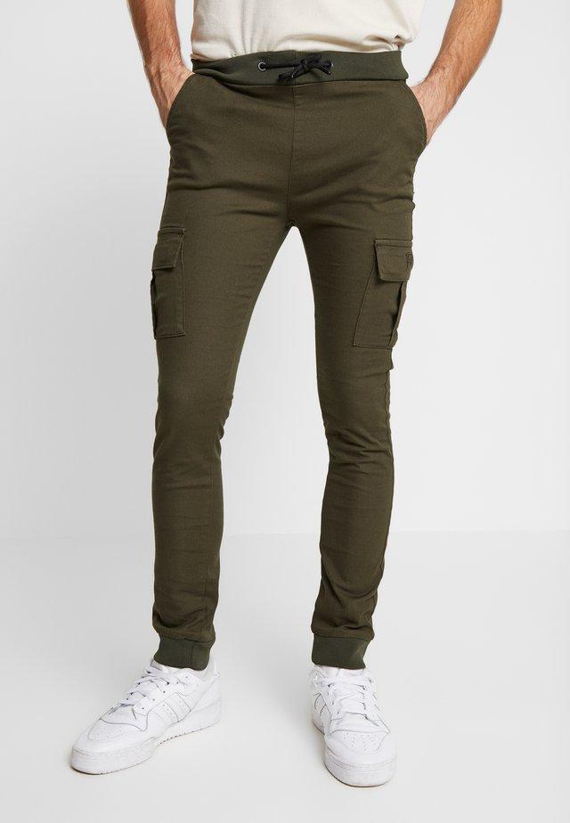 BRANDO - Cargo trousers - khaki
