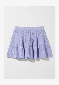Bershka - SWISS - A-line skirt - mauve - 4