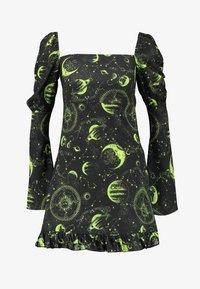 NEW girl ORDER - MOON MILK MAID DRESS - Denní šaty - black - 3
