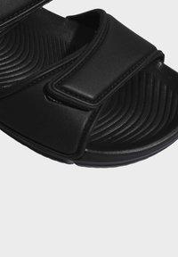 adidas Performance - ALTASWIM - Sandales de bain - black - 7