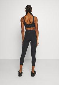 Cotton On Body - SCALLOP HEM 7/8  - Tights - black - 2