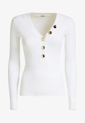 DEBORA - Strickpullover - blanc