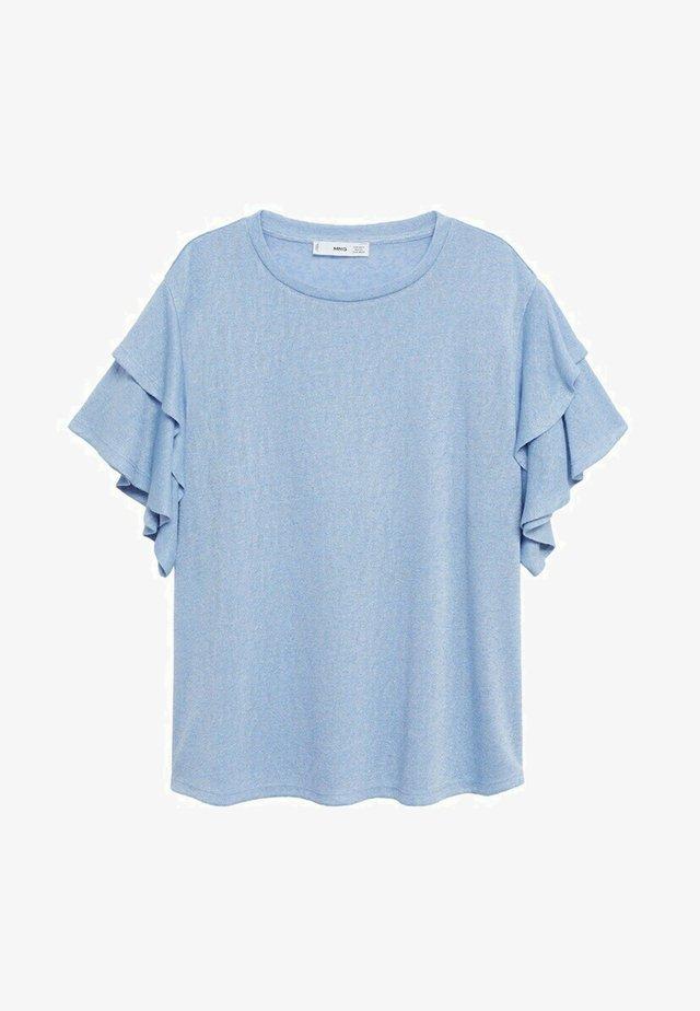 T-shirt basic - blauw