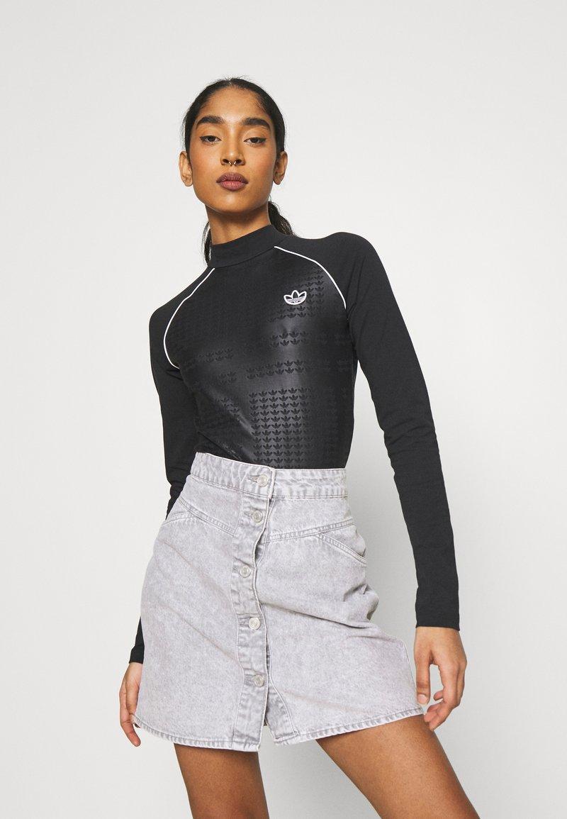 adidas Originals - BODY - Maglietta a manica lunga - black