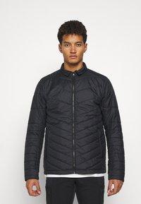Mammut - ROSEG 3 IN 1 HOODED MEN - Hardshell jacket - black/black - 4