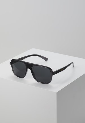 Sunglasses - transparent grey/black