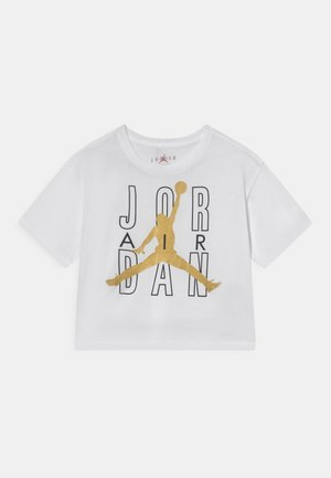 JORDAN AIR SHINE  - T-shirt con stampa - white