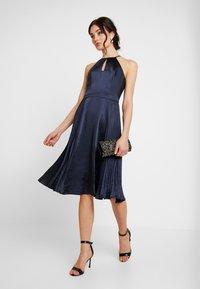 Chi Chi London - CHI CHI BENITA DRESS - Occasion wear - navy - 2