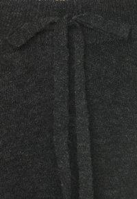 Vero Moda - VMVELAN PANT - Tracksuit bottoms - dark grey melange - 2