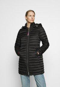 Tommy Hilfiger - COAT - Light jacket - black - 0