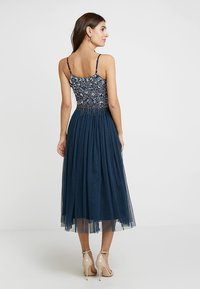 Lace & Beads - RIRI MIDI - Cocktailkjole - navy - 0