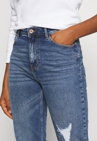 Pieces - PCKESIA MOM DESTROY - Jeansy Relaxed Fit - medium blue denim - 4