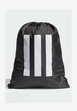 Drawstring sports bag - black