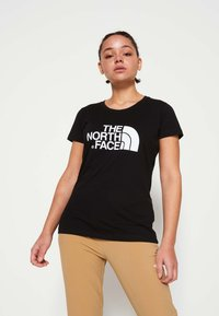 The North Face - WOMENS EASY TEE - Print T-shirt - black - 0