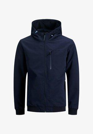 MIT KAPUZE - Outdoorjas - navy blazer