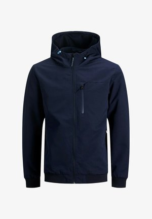 MIT KAPUZE - Outdoorjacka - navy blazer