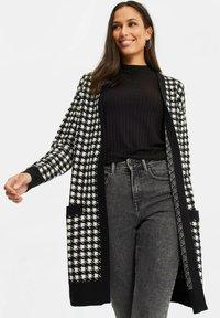WE Fashion - DAMES PIED DE POULE VEST - Gilet - black - 2