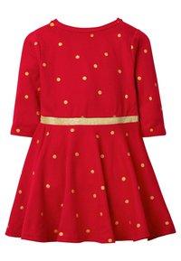 Boden - Jersey dress - mottled red - 1