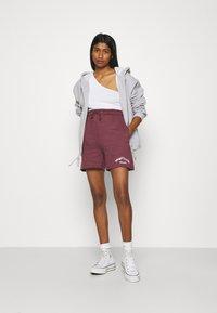 Missguided - MSGD SPORTS RAW HEM - Shorts - burgundy - 1