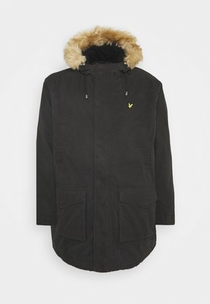PLUS WINTER WEIGHT LINED - Parkas - jet black