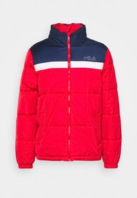 Fila - LANDOLF PUFFED JACKET - Träningsjacka - true red/black iris/bright white - 4