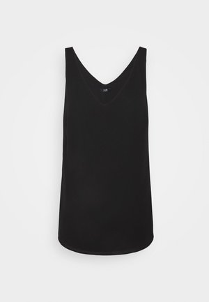 V NECK CAMI - Top - black