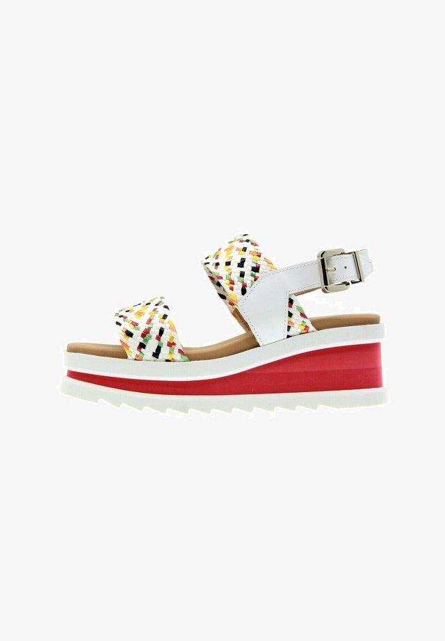 REDSKY  - Platform sandals - multicolor 1