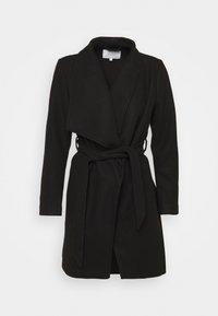 VILA PETITE - VICOOLEY COLLAR BELT COAT - Classic coat - black - 3