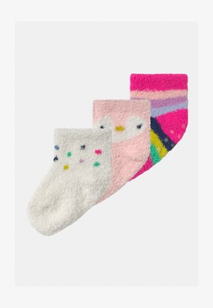 3 PACK UNISEX - Socks - misty rose
