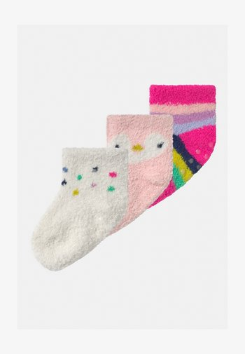3 PACK UNISEX - Socks - misty rose