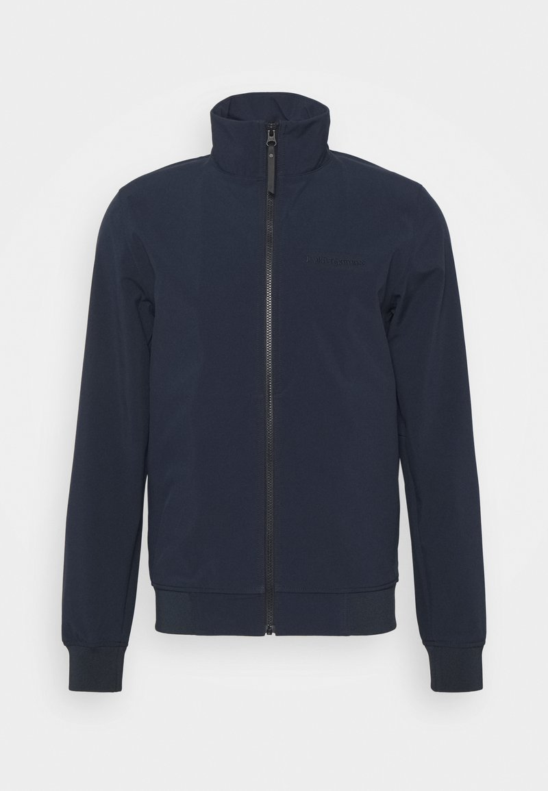 Peak Performance - BLIZZARD - Soft shell jacket - blue shadow dark haze