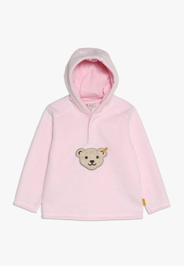 Bluza z polaru - barely pink