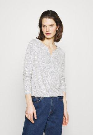 SANDRI - T-shirt à manches longues - iron grey melange