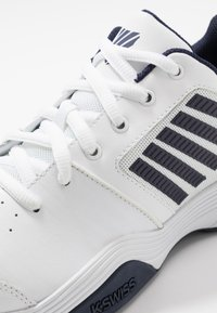 K-SWISS - COURT EXPRESS - Clay court tennis shoes - white/navy - 5