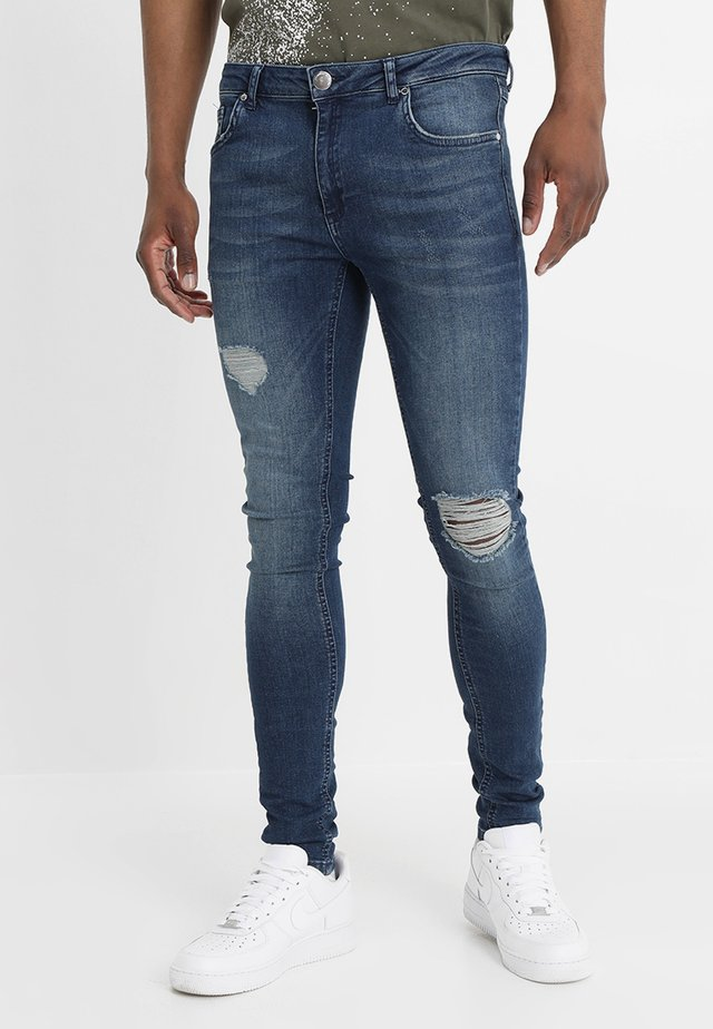 SPRAY - Jeans Skinny Fit - medium blue