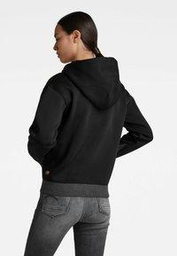 G-Star - PREMIUM CORE - Sweater met rits - black - 2