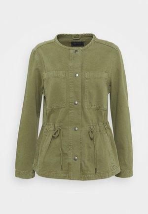WAISTED - Jeansjakke - khaki