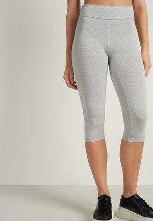 CAPRI - Leggings - Trousers - grigio melange chiar