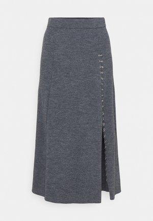JUPITTA - Áčková sukně - gris