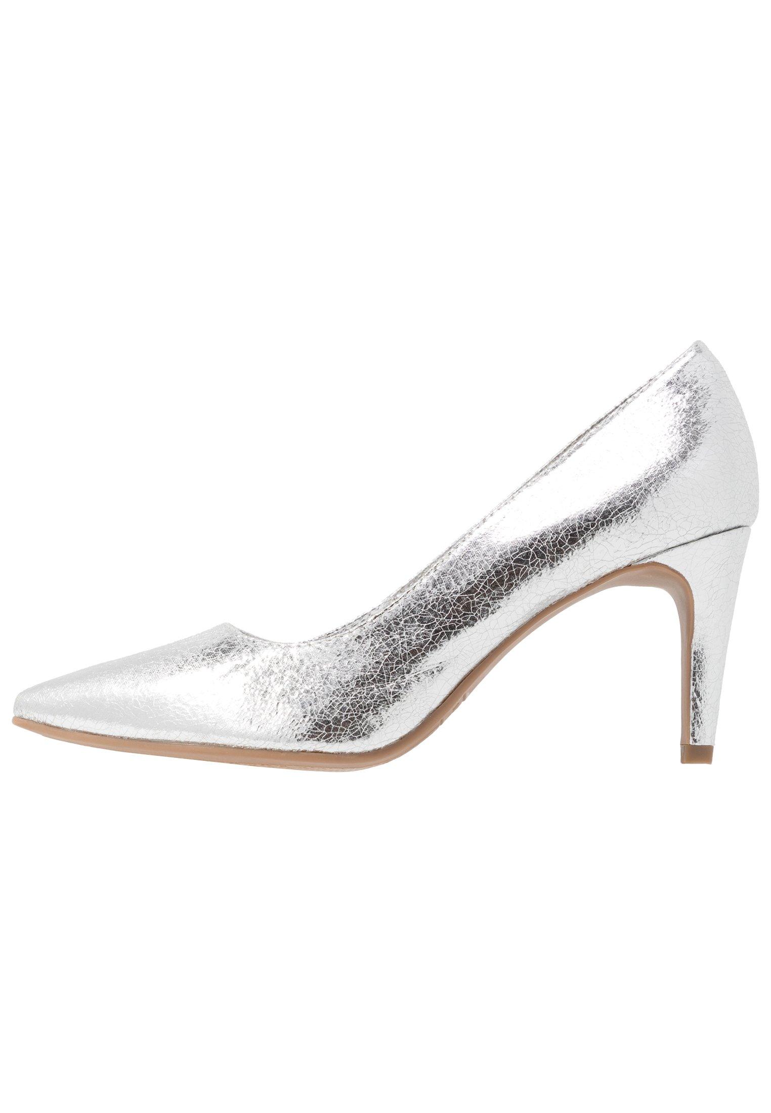 Silver Sølv høyhælte sko til barn   Pascal   Pensko   Miinto.no