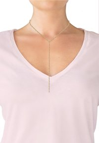 Elli - Y CHAIN BASIC - Necklace - gold-coloured - 1