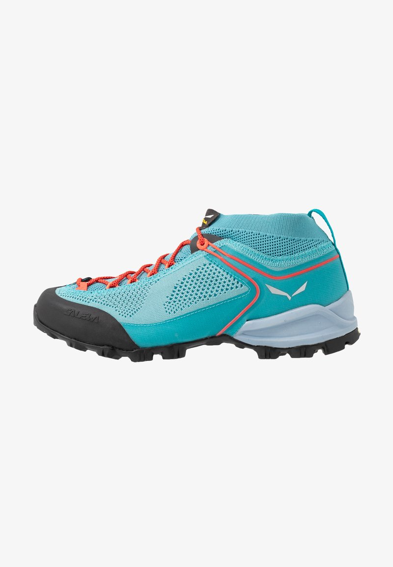 Salewa - ALPENVIOLET - Hiking shoes - canal blue/ocean