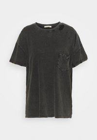 Free People - RUBI TEE - Jednoduché triko - washed black - 0