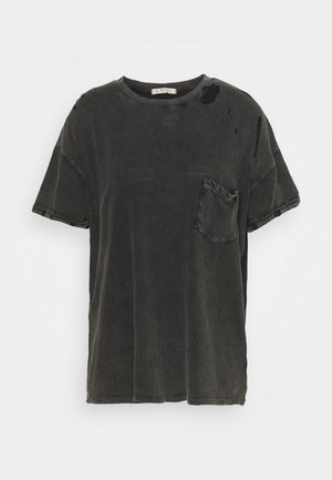 RUBI TEE - Basic T-shirt - washed black