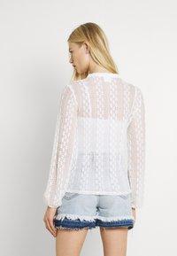 Vila - Button-down blouse - cloud dancer - 2