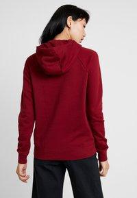 Nike Sportswear - HOODIE - Hoodie - team red/white - 2